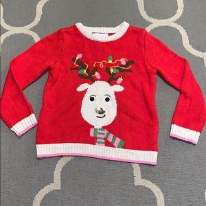 Holiday sweater girls 6X